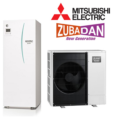 Toplotne črpalke Mitsubishi Electric Ecodan Zubadan