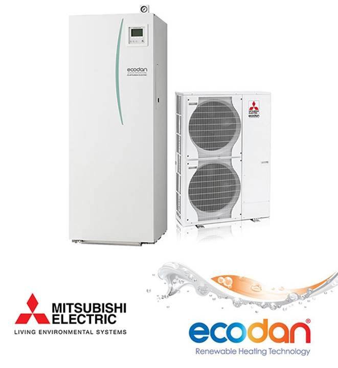 toplotne črpalke Mitsubishi Electric Ecodan