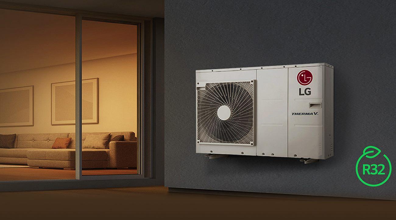 Toplotna črpalka LG Monoblock